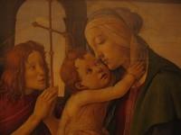 Сандро Боттичелли, «Мадонна с Младенцем и Иоанном Крестителем», Дрезденская картинная галерея
