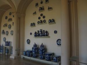 Арочная галерея, собрание фарфора в Цвингере, Дрезден