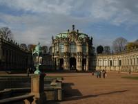 Комплекс Цвингера, Павильон на валу, Дрезден