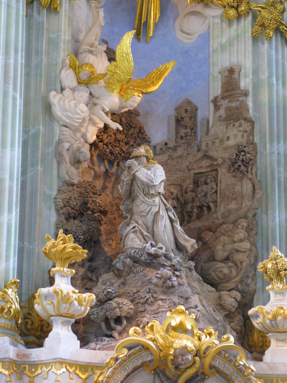 Церковь Богородицы в Дрездене, алтарь