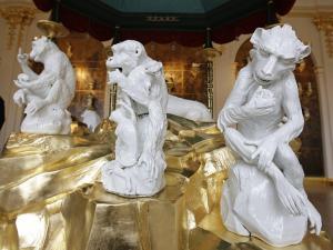 Собрание фарфора в Цвингере, Зал животных, Дрезден