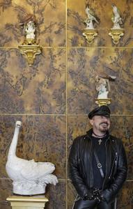 Питер Марино в Цвингере, Дрезден
