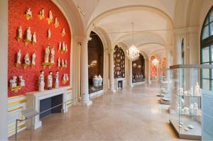 Новый дизайн Арочной галереи, собрание фарфора в Цвингере, Дрезден