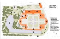 План комплекса Цвингер, Дрезден