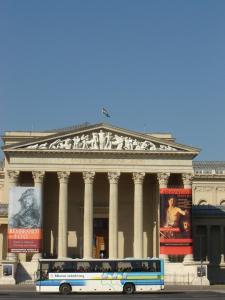 Площадь Героев в Будапеште, Музей изящных искусств