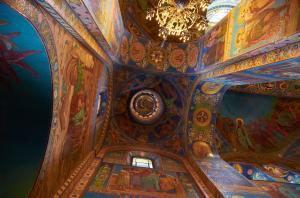 Спас на Крови внутри, Санкт-Петербург