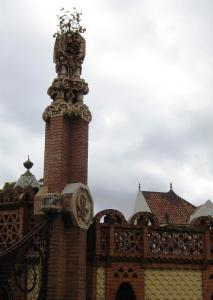 Усадьба Гуэля по проекта Гауди, Барселона, Испания