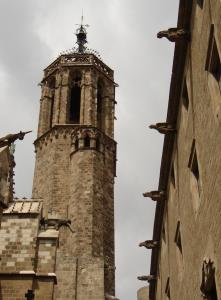 Колокольня Кафедрального собора, Барселона, Испания