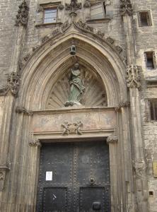 Церковь Санта-Мария-дель-Мар, Барселона, Испания