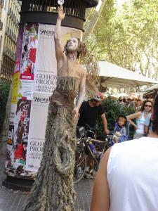 Улица Рамбла, Барселона, Испания
