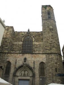 Церковь Сантс-Жуст-и-Пастор, Барселона, Испания