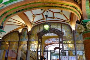 Дворец каталонской музыки, Барселона, Испания