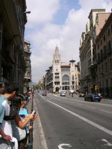 Проспект Виа Лайетана, Барселона, Испания
