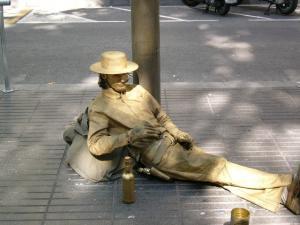 Улица Рамбла (Рамблас), Барселона, Испания