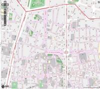 Карта центра Барселоны (Готического квартала)