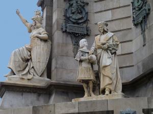 Памятник Колумбу, Барселона, Испания