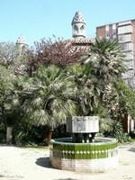 Копия фонтана, находившегося у дома Висенса, Барселона, Испания