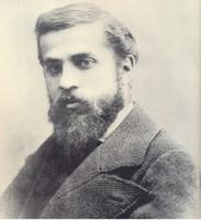 Антонио Гауди в молодости, портрет