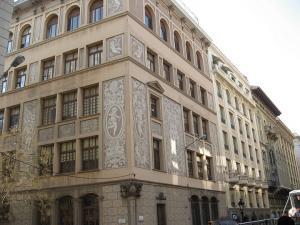 Дом с росписью сграффито, Барселона, Испания