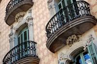 Дом в стиле модерн по проекту Хауме Торреса, Барселона, Испания