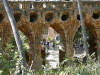 Парк Гуэля, Барселона, Испания