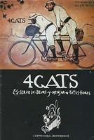 Обложка брошюры кафе Els Quatre Gats, Барселона, Испания