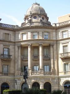 Площадь художника Фортуни, Реус, Испания