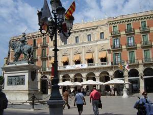 Площадь генерала Прима, Реус, Испания
