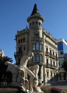Фонтан на Новой Рамбле, Таррагона, Испания