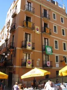 Площадь Русиньола, Таррагона, Испания