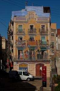 Дом с обманным фасадом, Таррагона, Испания