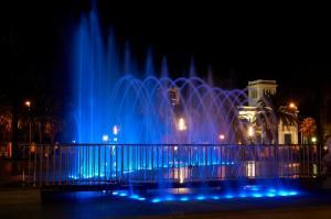 Поющий фонтан в Салоу, Испания