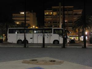 Автовокзал в Салоу, Испания
