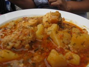 Блюдо аль-и-пебре, Валенсия, Испания