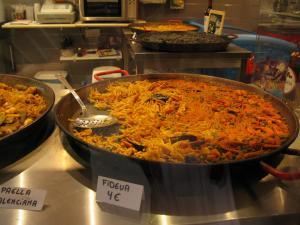 Сковорода с фидеуа, Валенсия, Испания