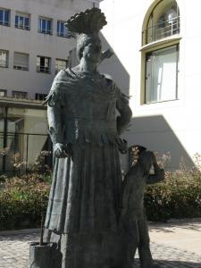 Памятник гиганту, Реус, Испания