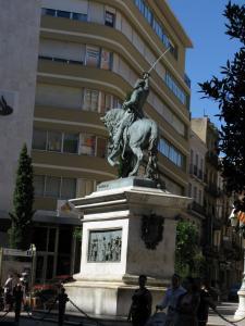 Памятник генералу Приму, Реус, Испания