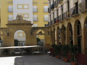 Площадь Старого Рыбного Рынка, Реус, Испания
