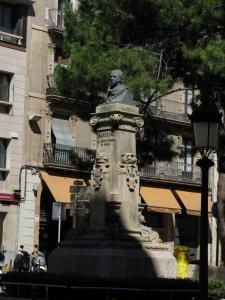 Памятник поэту Хоакину Бартрина, Реус, Испания