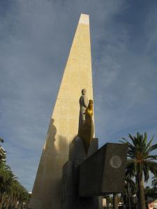 Памятник Хайме I в Салоу, Испания