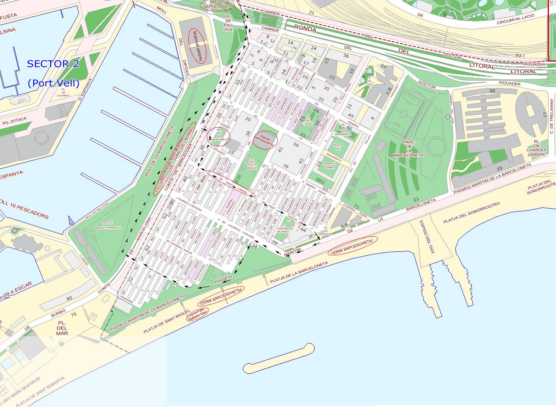 барселона аэропорт схема,карта