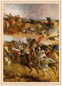 «Битва при Тетуане», фрагмент картины Мариано Фортуни