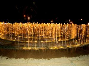 Фонтан-лабиринт-шутиха в Салоу, Испания