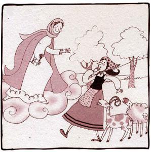 Явление Богоматери пастушке в Реусе