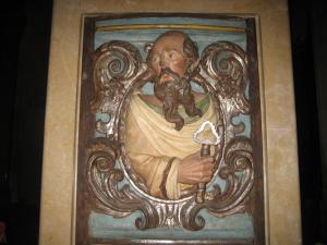 Св. Петр, скульптура бывшего главного алтаря церкви Св. Петра в Реусе