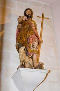 Св. Иоанн Креститель А. Пюжоля, скульптура бывшего главного алтаря церкви Св. Петра в Реусе