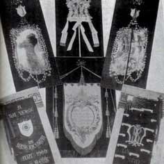 Штандарт Гауди для паломничества 1900 года