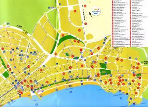 Карта Салоу, Испания
