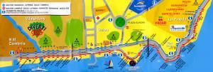 Карта автобусных маршрутов курортной зоны Коста-Дорада