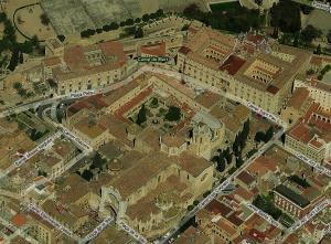 Собор на карте города, Таррагона, Испания